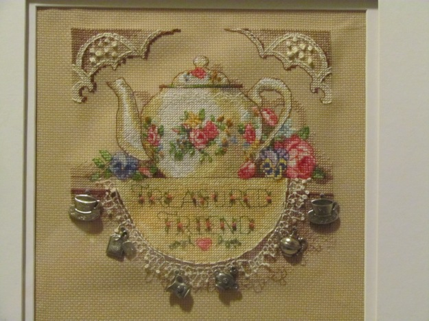 Treasured Friend Cross Stitch Gift
