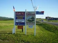 Chez Edmond Road Sign