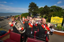 Brass band at Happy Mount Park