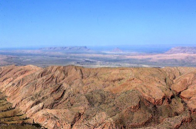 mt liebig summit view southeast