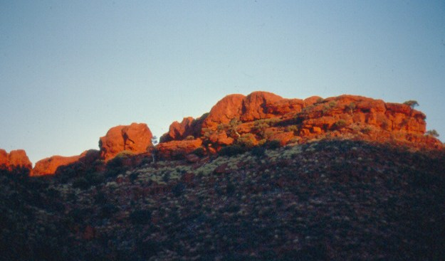 SUNSET KINGS CANYON - CDT1981