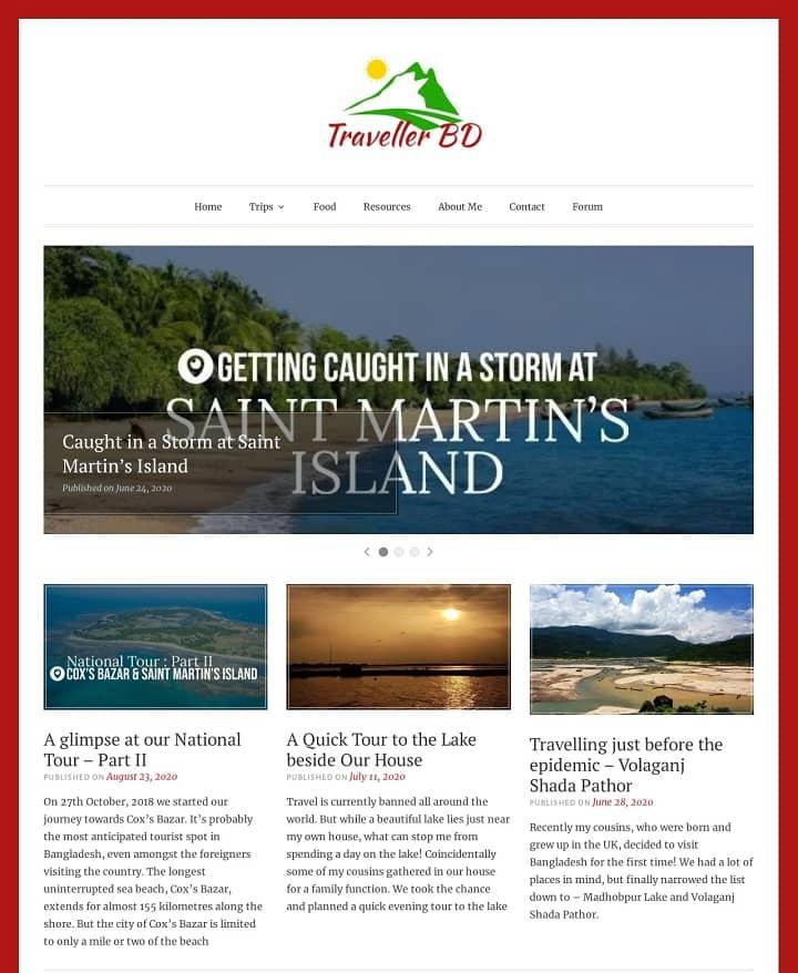 Websites that use Toujours wordpress theme
